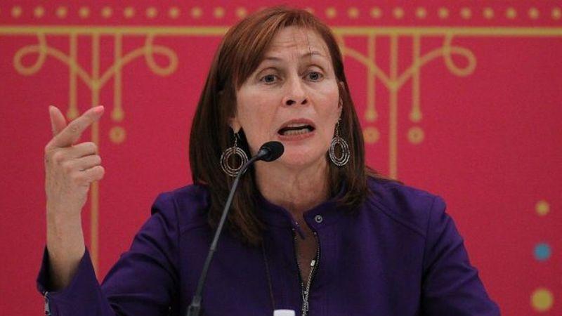 Tatiana Clouthier toma posesión de su puesto en la Secretaría de Economía