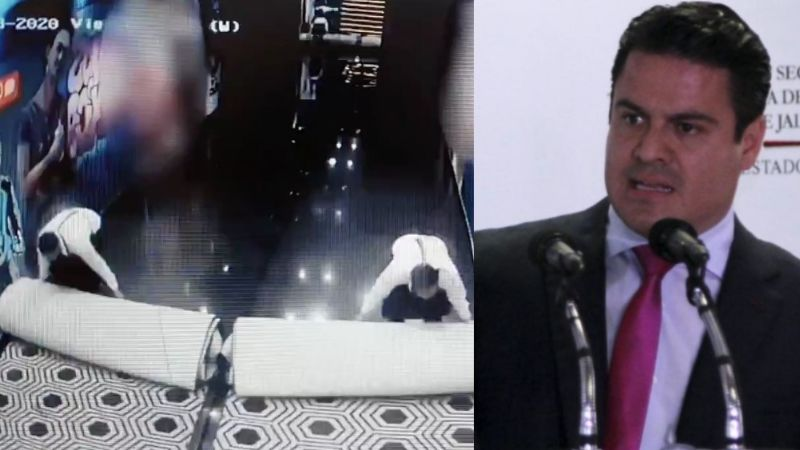 VIDEOS: Captan a empleados al limpiar y quitar cámaras tras asesinato de Aristóteles Sandoval