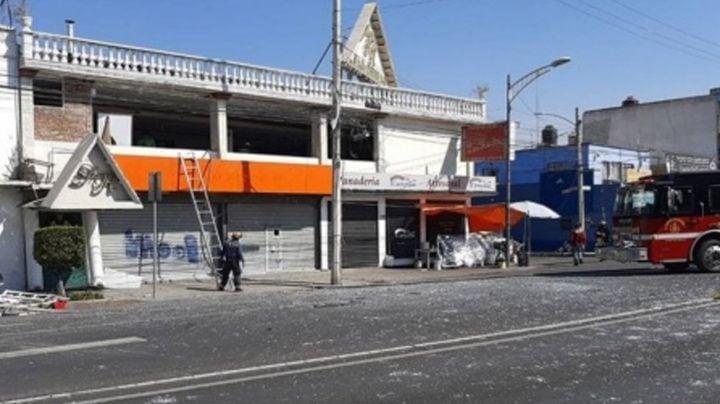Reportan explosión de gas en salón de fiestas de la GAM; hay seis lesionados