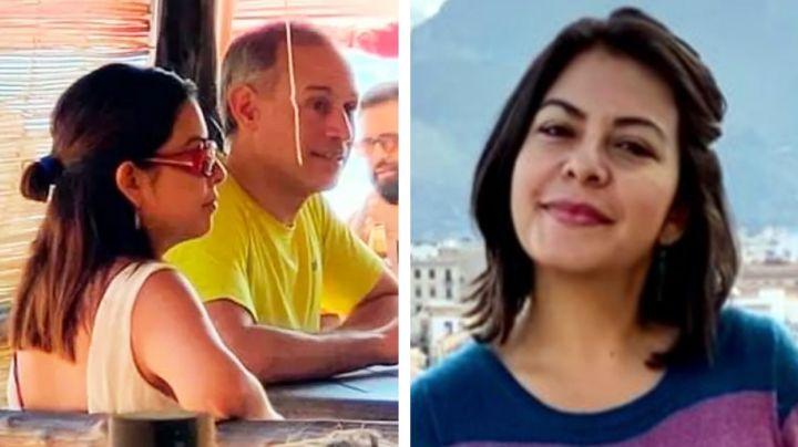 Ella es Rebeca Peralta, la novia de López-Gatell con la que fue captado en Oaxaca