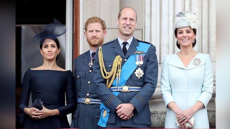 Kate Middleton y el Príncipe William destronan a Meghan Markle y el Príncipe Harry