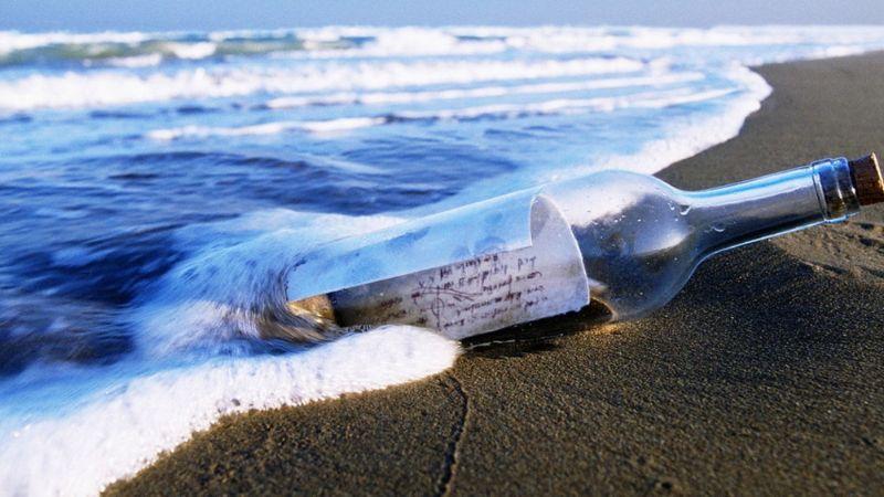 Botella con carta en las Bermudas es encontrada y lo que pasó después se ha viralizado en redes