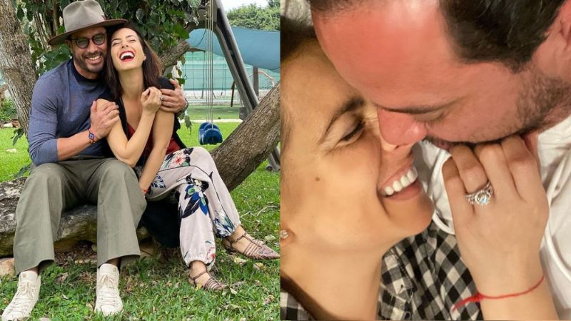 Claudia Lilzadi se compromete con Raúl Paz Alonso y presume su lujoso anillo