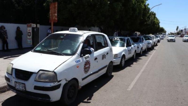 Taxis colectivos mantendrán su tarifa en Cajeme