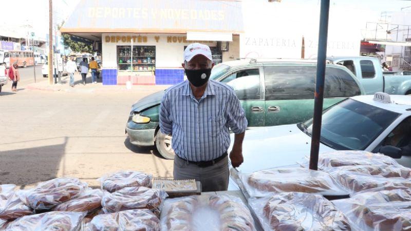 Ciudad Obregón: Pandemia no 'rompe' con elaboración de Rosca de Reyes