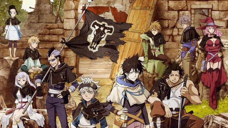 El anime de 'Black Clover' logró convertirse en tendencia por todo el mundo
