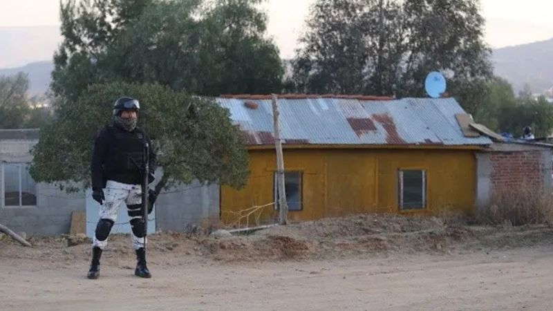 Sicarios acribillan y asesinan a cinco hombres en Tecate, Baja California