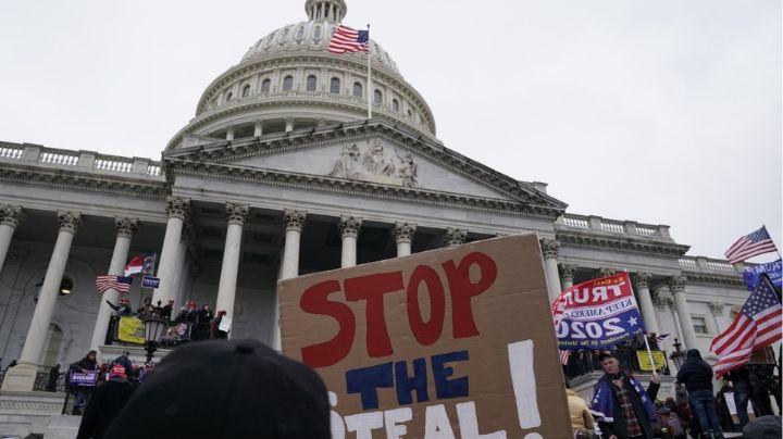 Se impone toque de queda en Washington por caos y disturbios en el Capitolio