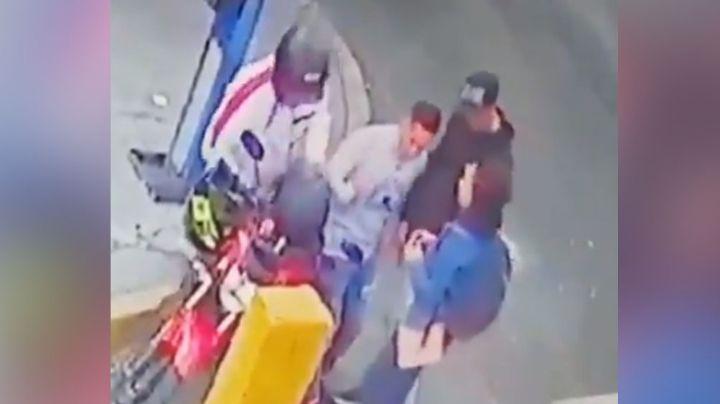A punta de pistola, pareja es asaltada y despojada de sus pertenencias