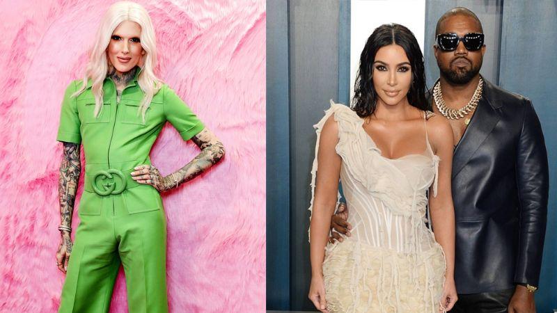 Kim Kardashian pediría el divorcio al descubrir que Kanye West le fue infiel con Jeffree Star