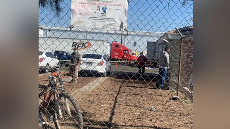 Mujer muere atropellada por un tráiler en parque industrial; el responsable se dio a la fuga