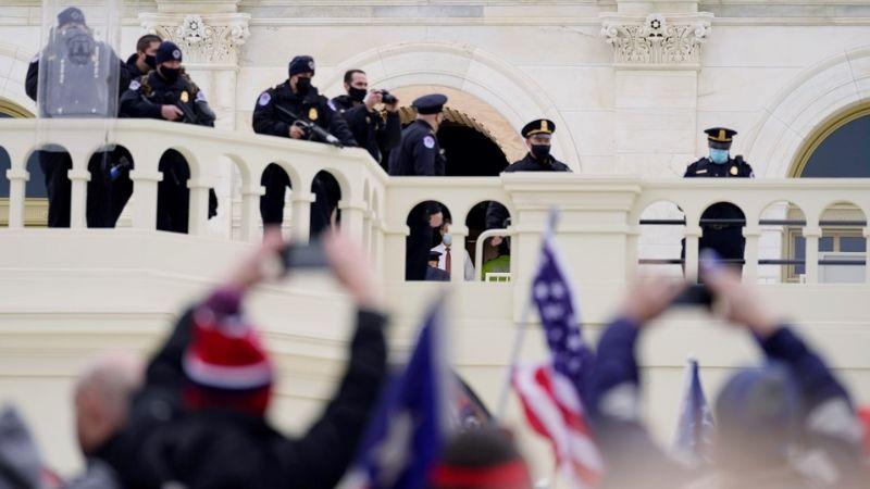 El mensaje de Donald Trump ante violencia y caos de manifestantes en el Capitolio
