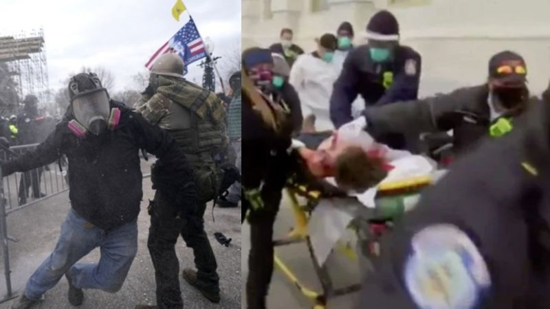 Washington: Hieren de bala a mujer en protestas pro Trump en Capitolio; está grave