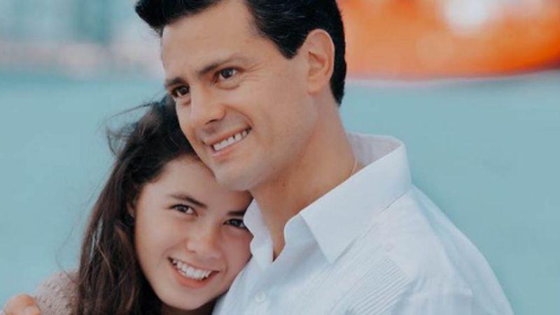 Hija de Peña Nieto asegura que a su padre le divierten los memes que le han hecho en Internet