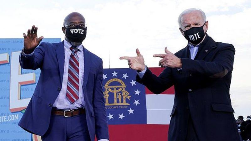 Partido Demócrata gana en Georgia y obtiene control del Senado de Estados Unidos
