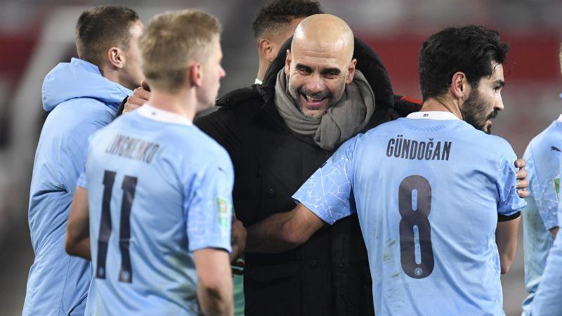 City jugará otra final de Copa de Liga; vence al United y va contra el Tottenham