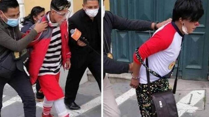 Payasos son detenidos luego de ser acusados por corrupción de menores a niña de 12 años