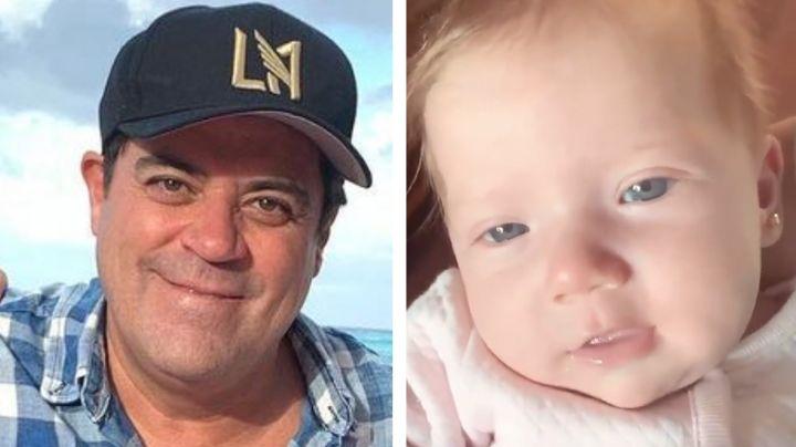 'El Burro' Van Rankin llena ternura las redes con dos videos de su bebé Carlota
