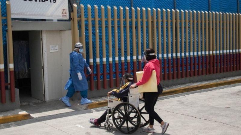 Al menos 111 hospitales del centro del país se encuentran a tope de contagios de Covid-19