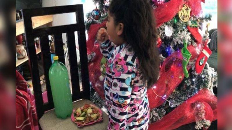 Día de Reyes: El alma de una niña conmueve al preferir comida que juguetes