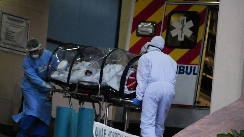 Contagios de Covid-19 alcanzan cifra diaria más alta desde el inicio de la pandemia