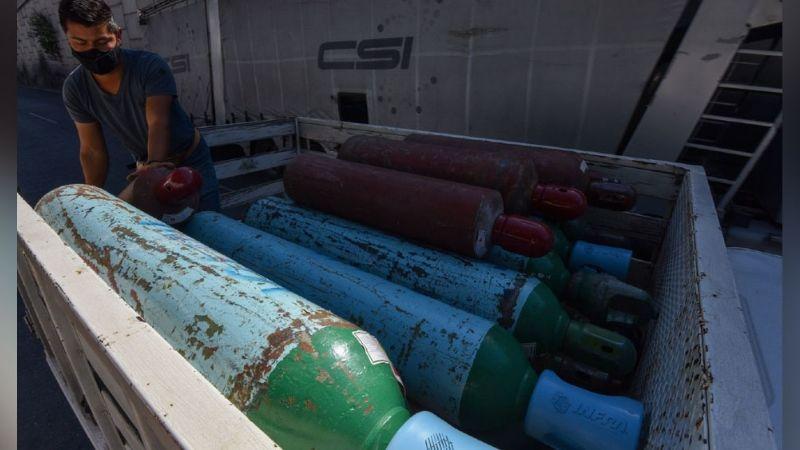 Autoridades alertan de fraude en ventas de tanques de oxígeno en el Edomex