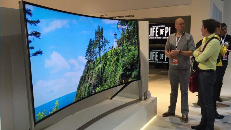 LG hace lo suyo y prepara el lanzamiento de la pantalla que se curvea