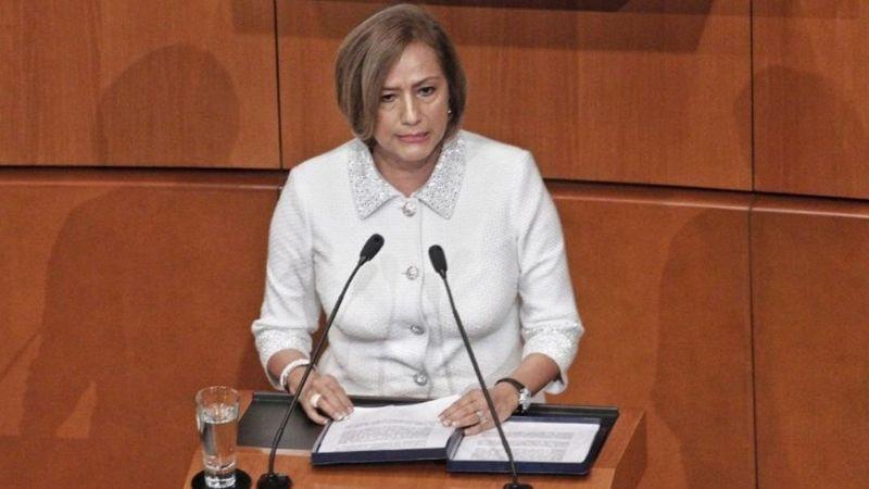 """Rosario Marín, llama a destituir a Trump del poder por ser un """"peligro para la Nación"""""""