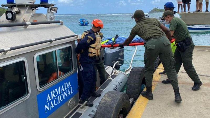 Armada Nacional de Colombia recupera 3 cuerpos de náufragos migrantes de Haití