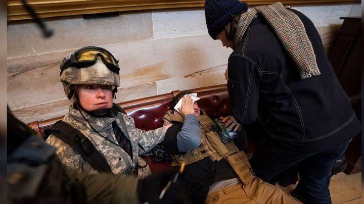 Muere policía herido durante protesta del Capitolio al no superar las heridas