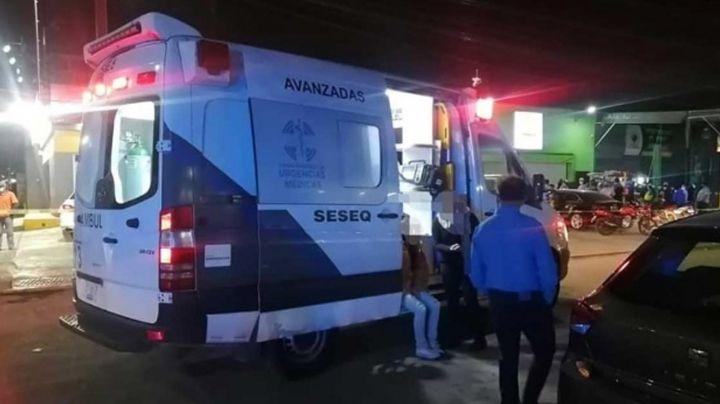 Con piedras y varilla, indigentes asesinan a hombre en plena calle de Querétaro