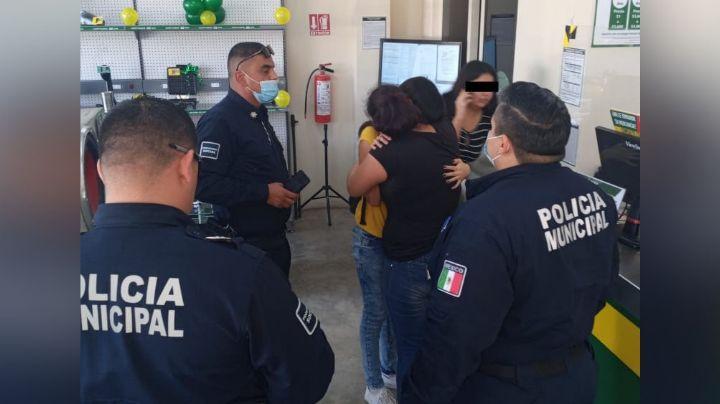 Autoridades salvan a familia de ser víctima de extorsión en Ciudad Obregón