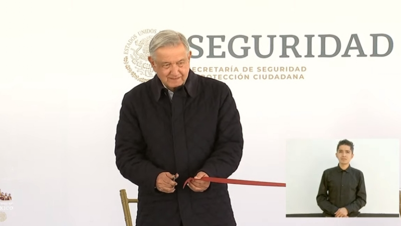 """""""Ahora hay cuarteles dignos"""": AMLO inaugura instalaciones de la Guardia Nacional"""