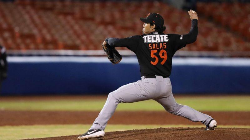 Fernando Salas es el Relevista del Año en la Liga Arco Mexicana del Pacífico
