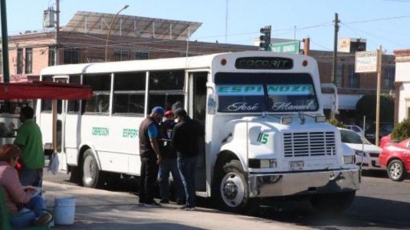 Ciudad Obregón: Pasajeros tienen miedo de usar camiones tras asesinato