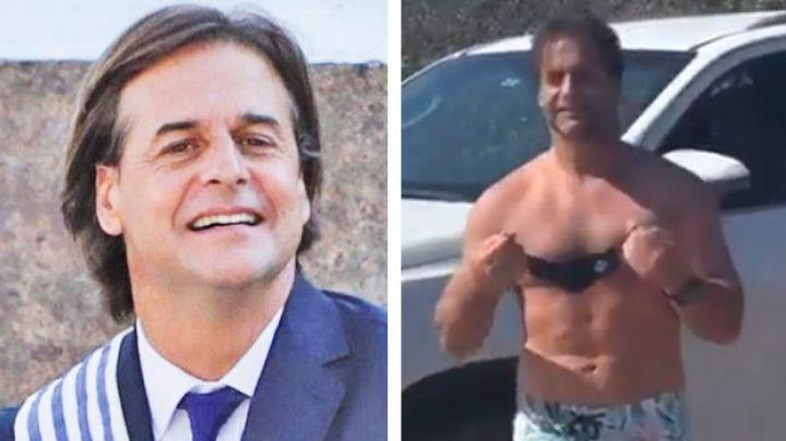 Increíble musculatura del presidente de Uruguay se vuelve viral en redes sociales