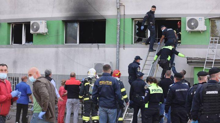 Pánico: Incendio en nosocomio de Rumania deja 9 víctimas mortales; se atendía el Covid-19