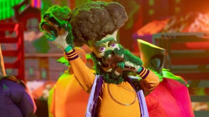 Brócoli se convierte en el primer eliminado de '¿Quién es la máscara?' y revela su identidad