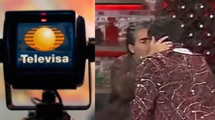 ¿Sale del clóset? Tras besarse con actor de Televisa, conductor de 'Hoy' manda a volar a su novia