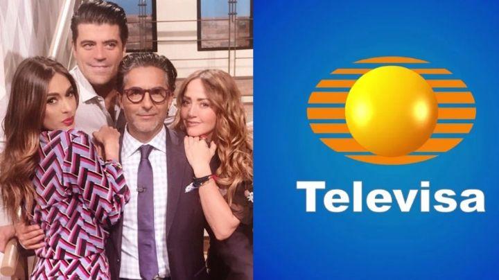 ¿Se va a TV Azteca? Tras 31 años en Televisa y sin exclusividad, conductor confirma que deja 'Hoy'