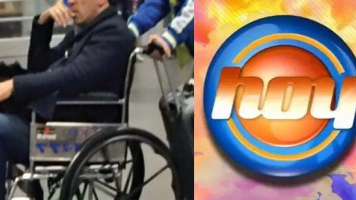 Subió 20 kilos: Tras acabar en silla de ruedas y 30 años en Televisa, galán de novela vuelve a 'Hoy'