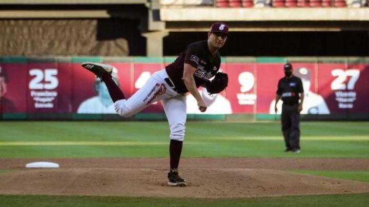 Hay lanzador en Culiacán: Alejandro Chávez es el pitcher de la semana en el beisbol del Pacífico