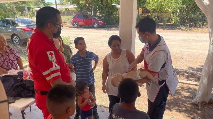 Cruz Roja lleva servicios de salud a zonas rurales del municipio de Cajeme