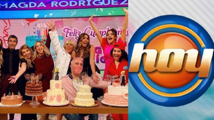 Tras 21 años en Televisa y despido de 'Hoy', famosa actriz vuelve al programa con inesperada noticia