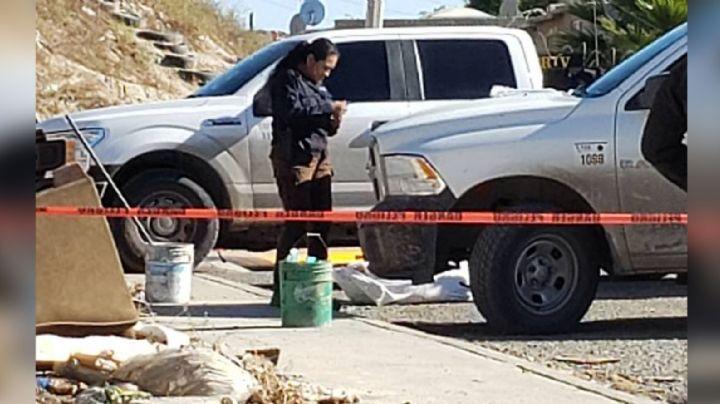 Pánico en Tijuana: Comando armado deja un hombre ejecutado en la vía pública; tenía el tiro de gracia
