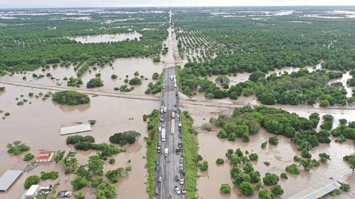 Deslaves y pérdidas totales, los estragos del huracán 'Pamela' en Nayarit, Sinaloa y Durango