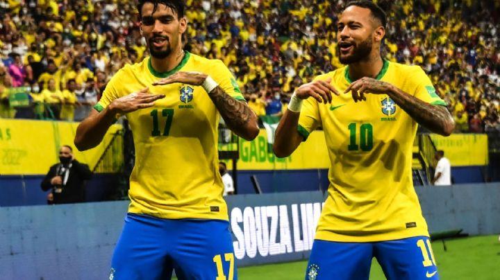 Brasil le da un baile a Uruguay y camina rumbo al Mundial de Qatar 2022