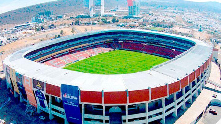 ¡Bienvenidos 'lomitos'! Estadio de Querétaro será el primero con zona especial para perros