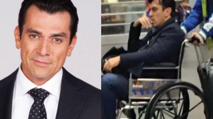 Jorge Salinas: Tras quedar en silla de ruedas y subir 20 kilos, exhiben salud del galán de Televisa