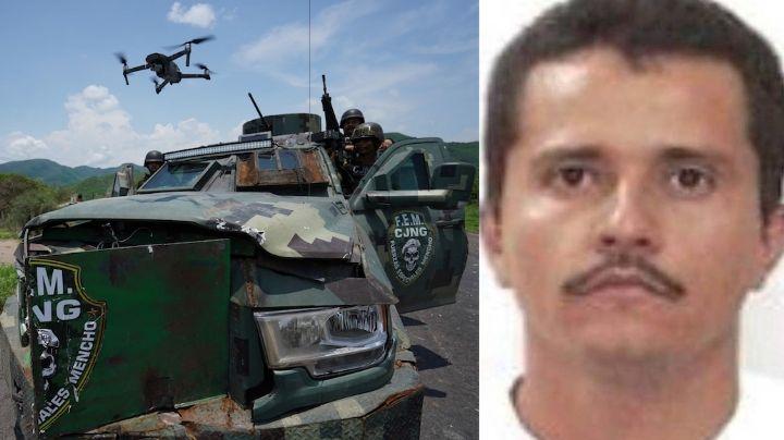 'El Mencho' ordenaría al CJNG emboscar a policías en Michoacán; tiroteo deja 2 víctimas